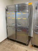 Traulsen SG2000 (1) 52''W x 32''D x 7' H 4-Door Refrigerator