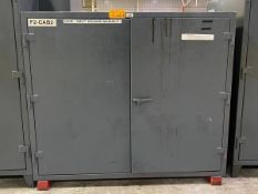 Strong Hold (1) Heavy-Duty 2-Doors Storage Cabinets