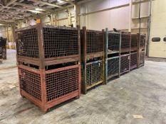 (12) 54'' W x 44''L Mesh Wire Baskets