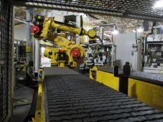 2008 Fanuc R-2000iB Servo Robot