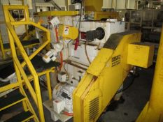 """2006 C&B Machinery R242 30"""" Swing Arm Double Disc Grinder"""