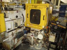 "2008 C&B Machinery DG-2-H 30"" Swing Arm Double Disc Grinder"