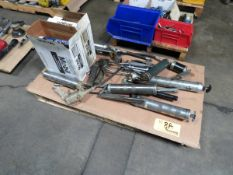 Lot of Assorted Grease Guns and Grease