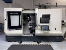 2015 DMG Mori NZX1500/800SY2 Twin Spindle Twin Turret CNC Turning Center