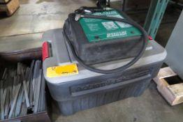 Speedaire 6W614 Portable Sandblaster