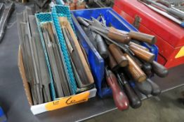 Lot of Assorted Hand Files