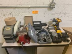 Lot of Miscellaneous Items w/ Table