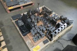 Pallet of Assorted V-Blocks and Risers