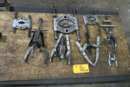 Lot of Assorted Small Bearing Pullers