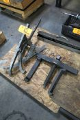 Lot of (2) Large Bearing Pullers
