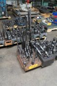 Pallet of Assorted Hold-Down Tooling w/ NMTB 40-Taper Tooling