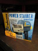 Wagner Power Stainer Sprayer