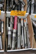 Lot of Assorted Indexable Drills & Milling Cutters