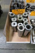 Lot of Assorted Lathe Boring Bar Sleeves