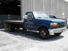 1994 Ford F-350 XL Stake Bed Dually Truck