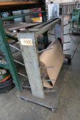 Material Handling Cart w/ Cardboard Stock
