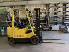 Hyster 5,000 Lb. Cap. Propane Forklift