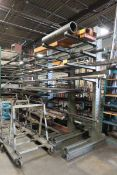 Cantilever Rack w/ Contents