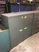 Vidmar 2-Door Steel Cabinet -
