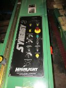 Highlight Industries Synergy 3 Stretch Wrapper and Platform Scale