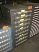 Stanley Vidmar 9-Drawer Storage Cabinet -