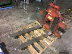 Brudi Bonzani Auramo Forklift Rotator Attachment