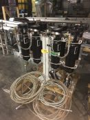 Rosedale Products Lot of (2) Filtration Cylinder Systems