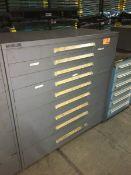 Vidmar 9-Drawer Storage Cabinet -