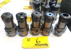 (5) Briney HSK63ABR 32 100M Tool Holders