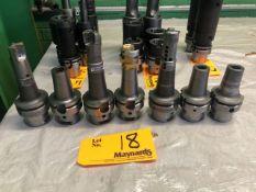 (6) Seco HSKA63 CMT 16x85 Combimaster Threaded Modular System