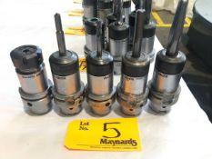 (5) Seco HSKA63 CCHP 32x100 Tool Holders