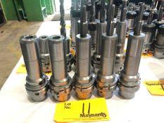 (5) Erickson HSK63 AHCT 18150M Hydraulic Chuck