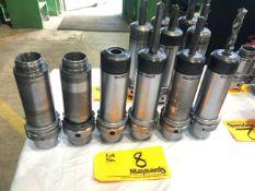 (6) Seco HSKA63 CCHP 32x100 Tool Holders