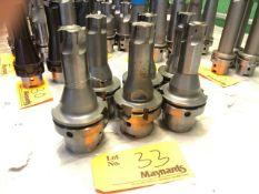 (6) HSK80 various Face Mills