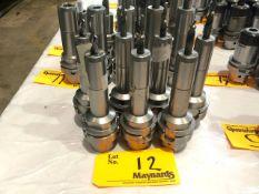 (7) Erickson HSK63 AHCT 10150M Hydraulic Chuck