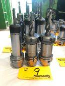 (2) Rego-Fix HSKA63 ER40x120H Power Milling Chuck