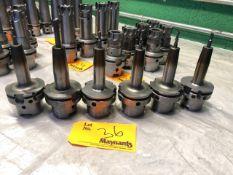 (6) HSK80 various Shrink fit Holders