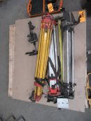 Pallet of Level Stands