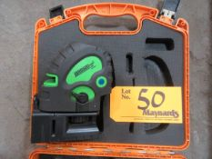 Johnson 40-6688 Self Leveling Line and Dot Laser
