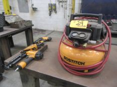 Bostitch Pneumatic Tools with Compressor