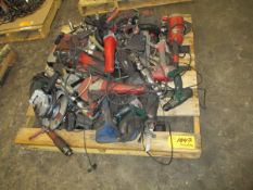 Pallet of Electric and Pneumatic Tools