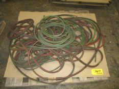 Lot of Assorted Welding Hoses