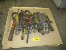 Lot of Assorted Straps & Hooks
