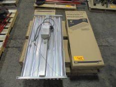 Lot of Cooper Lighting Metalux 4' Light Fixtures