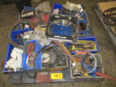 Lot of Assorted Tools, Blade, Sanding Wheels