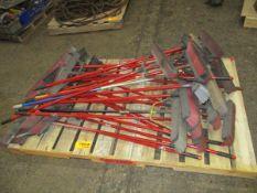 Lot of Push Brooms
