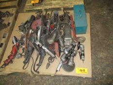 Lot of Pneumatic & Electric Tools