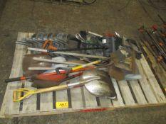 Lot of Assorted Metal Shovels & Dust Pans