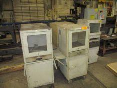 Lot of (5) Shop Floor Computer Consoles
