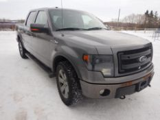 2013 FORD F150, FX4, CREW CAB, 4X4, 5.0L, V8, 331,625 KM'S SHOWING, AUTO TRANS, LEATHER, S/N